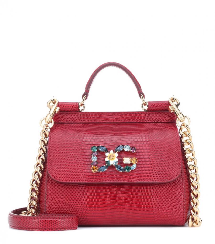 Dolceamp; Sicily Gratis Tutos ⋆ De Totes MujerBolso Rojo Piel Gabbana Small lTKc1FJ
